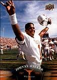 #10: Johnny Walker football card (Texas Longhorns) 2011 Upper Deck #53 1987-1990 Wide Receiver