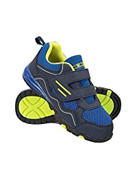 Mountain Warehouse Light Up Kids Hiking Shoes - Summer Walking Shoes