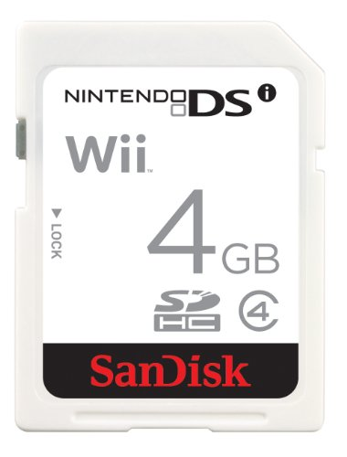 Sandisk 4GB Gaming SD Card For Nintendo DSi - Retail Pack by SanDisk