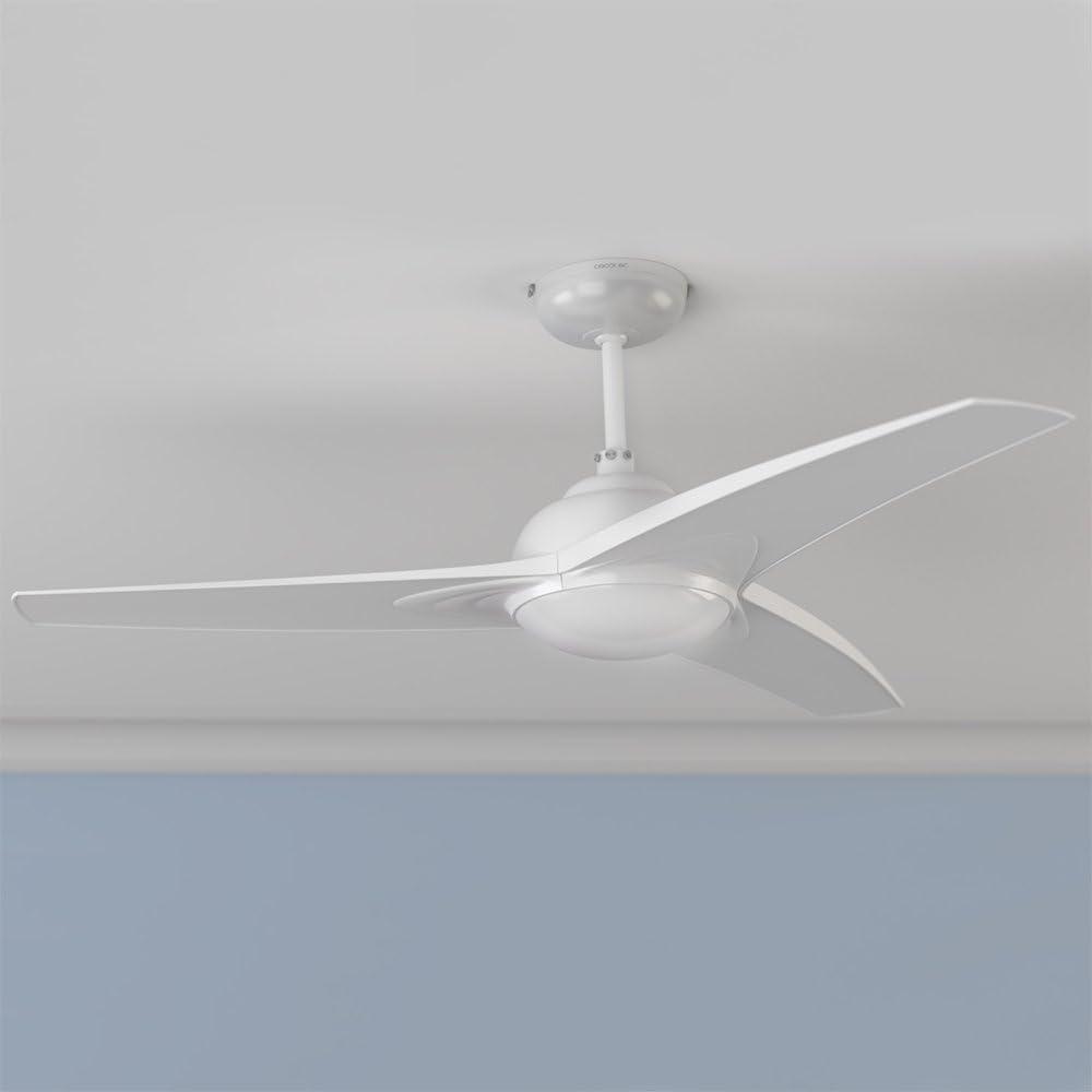 Cecotec Ventilador de Techo EnergySilence Aero 460. Mando a Distancia, Luz, 106 cm de Di‡metro, 3 Aspas, 3 ...