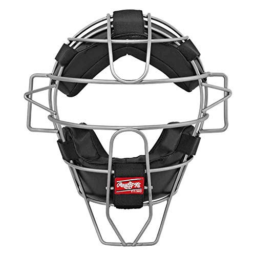 Rawlings LWMX2-S Ultra Lightweight Adult Catcher's Face Mask, Scarlet
