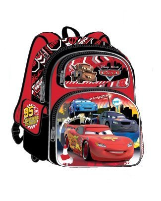 Disney Cars Kids 16 inch Deluxe Backpack