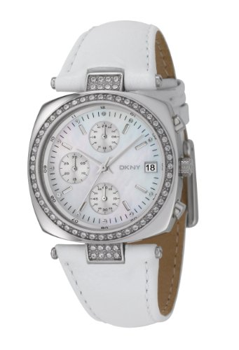 Dkny Mother Of Pearl Dial Watch - DKNY Crystal Collection Mother-of-pearl Dial Women's watch #NY4909