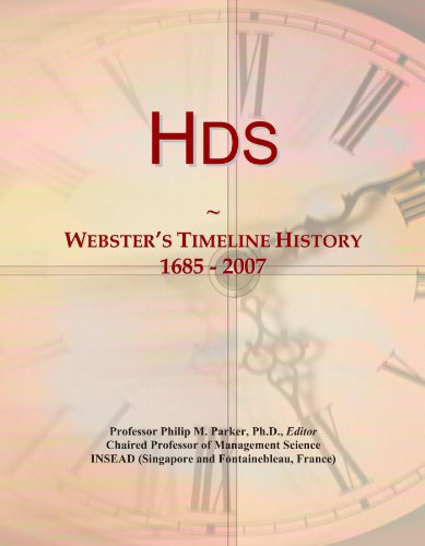 Hds: Webster's Timeline History, 1685 - 2007 (Hd Icon)