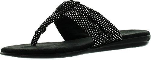 Aerosoles Women's Chlairvoyant Flip Flop, Black Studs, 6....