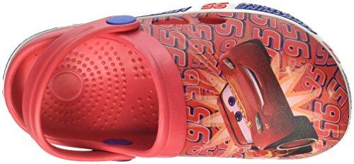 Disney S19533/Az, Zuecos Para Niños Rojo