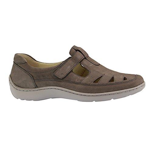 Skimmer Henni 496510-088 Pro Aktiv - Comode Scarpe / Inserto Morbido Scarpe Da Donna Comoda Ballerina / Pantofola, Grigio, Pelle (denver), Altezza Del Tacco: 20 Mm Combi