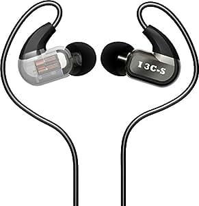 DUNU I 3C-S, Earphones with Ultra-Modern Studio Grade Balance Armature Hi-Fi Earbuds Headphones