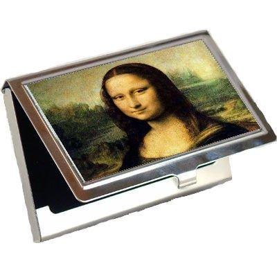 Mona Lisa by Leonardo DaVinciビジネスカードホルダー   B001TXBDBC