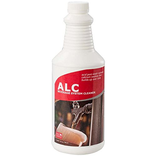 National Chemicals 31062 32 oz. Bottle of ALC Acid Post Wash Beer Line Cleaner