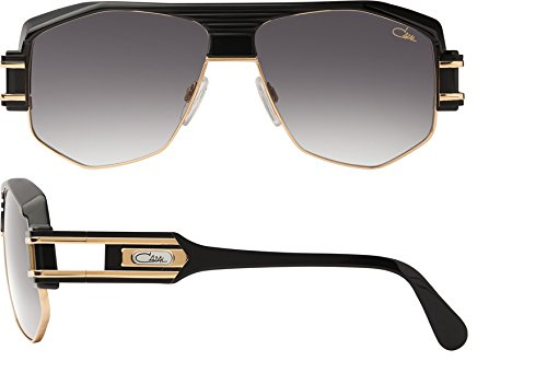 CAZAL VINTAGE SUNGLASSES 671 001 BLACK WITH GOLD - Sunglasses Vintage Cazal
