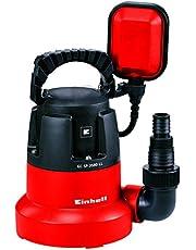 Einhell Pompe d'évacuation eaux claires GC-SP 3580 LL (350 W, Hauteur de refoulement 7,5 m, Câble d'alimentation 10 m, Corps en PVC, Poignée de transport)