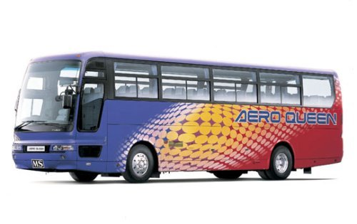 1/32 Mitsubishi Fuso Aero Queen I Express Bus Aoshima Bus