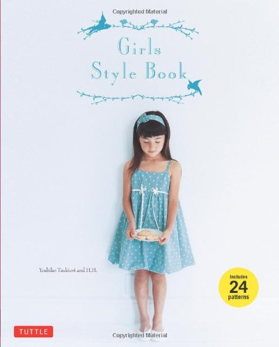Style Sewing Pattern (Girls Style Book: [Sewing Book, 24)