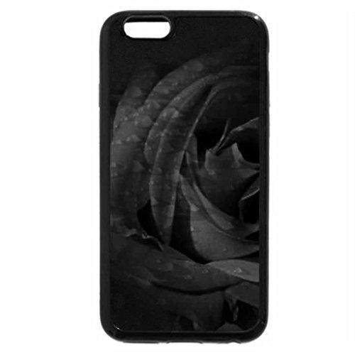 iPhone 6S Plus Case, iPhone 6 Plus Case (Black & White) - redrose