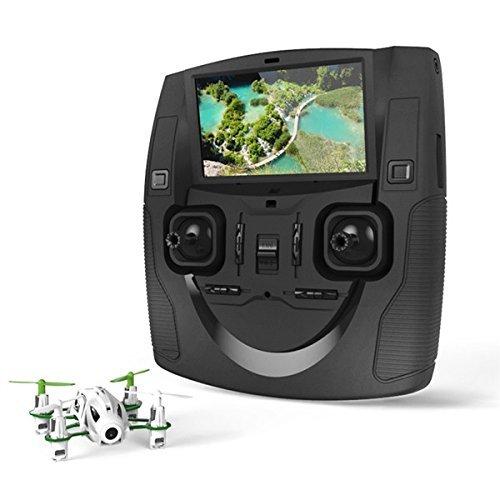Hubsan H111D NANO Q4 Mini Drone FPV Caméra 480P Flips 360 ° avec 6 Axes Gyro 5.8Ghz