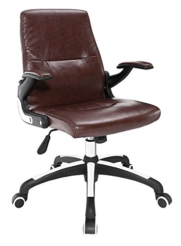 Modway Premier Highback Office Chair, Brown