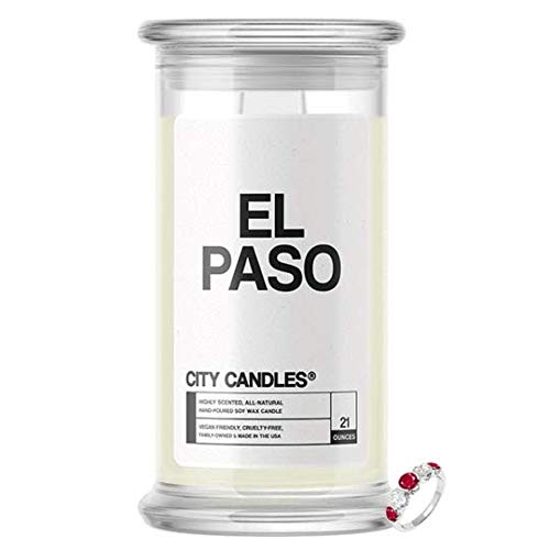 Jewelry Candles  El Paso City Surprise Jewelry Valued at $10 - $7,500 Inside | Choose from 30+ Scents | 21oz Jar | Think Pink! | Bracelet