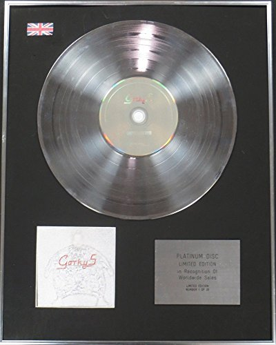 GORKY'S ZYGOTIC MYNCI - Limited Edition CD Platinum Disc - GORKY 50