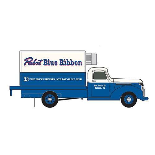 ho-1941-46-chevy-box-truck-pabst-blue-ribbon-beer