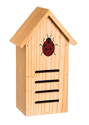 Evergreen Butterfly House (Evergreen Ladybug Wooden Hibernation House)