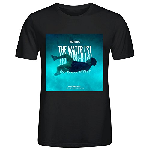 (Mick Jenkins The Waters Adult Men Short Sleeve)