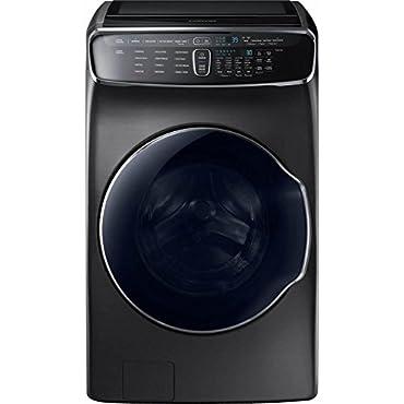 Samsung WV60M9900AV 6.0 Cu. Ft. Black Stainless FlexWash Steam Washer