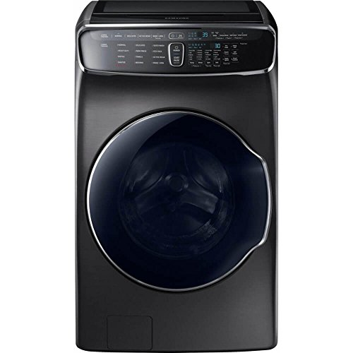 Samsung 6.0 Cu. Ft. Black Stainless FlexWash Steam Washer