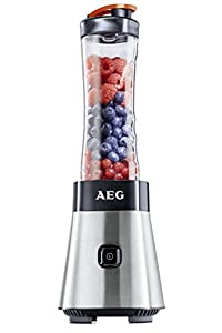 AEG PerfectMix SB2400 Mix & Go Mini Mixer mit 0,4 PS-Power-Motor (bis zu...