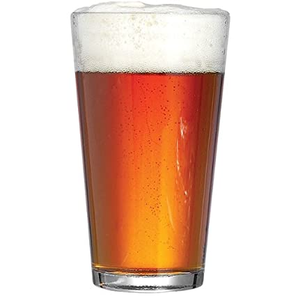 Carlsberg Reward - Juego de 4 vasos de cerveza (568 ml, 57 cl, cristal de cerveza de la marca Carlsberg)