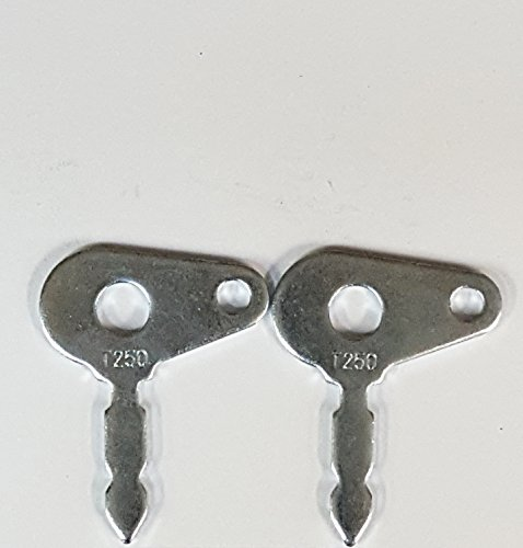 2 (1 pair) Keyman Ford-New Holland-Massey Ferguson-International Harvester-Case Tractor & Equipment Keys part #T250