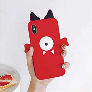 Amazon.com: Soft Silicone Monster Case for Apple iPhone X