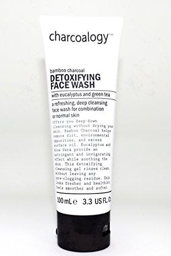 Charcoalogy Detoxifying Face Wash w/Eucalyptus & Green Tea (Detoxifying Cleanser)