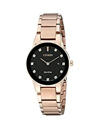 Citizen Women's GA1058-59Q Axiom Analog Display Japanese Quartz Rose Gold Watch