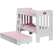 Cinderella USA Trundle Doll Bunk Beds With Ladder (Assembly required)