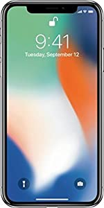 Apple Iphone X 64GB GSM Unlocked - US warranty (Silver Unlocked GSM only)