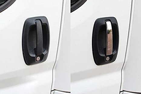 Cromo puerta asas, Acero Inoxidable paneles 2 puertas caravanas: Amazon.es: Coche y moto