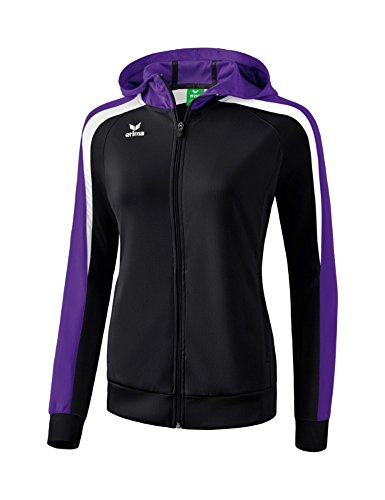 violet Nero 2 Kapuze Giacca Liga bianco Erima Mit Donna Trainingsjacke 0 z48fwU
