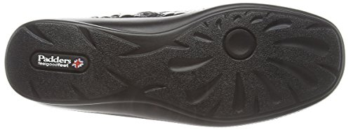 Croc Nero 43 Padders Donna Stivali da Tanya Black 7STY7x