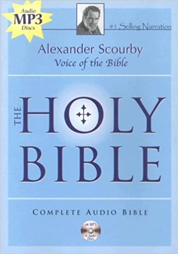 The Holy Bible King James Version By Alexander Scourby 2006 04 01