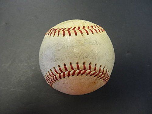 25-1965-Los-Angeles-Dodgers-Team-Signed-Baseball-PSADNA-Signed-Baseballs-Autographed-Baseballs