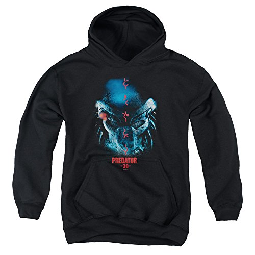 Predator 30th Anniversary Unisex Youth Pull-Over Hoodie for Boys and Girls ()
