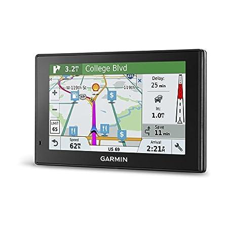 Garmin DriveSmart 51 Full EU LMT-S - Navegador GPS con mapas de por Vida y tráfico vía móvil (Pantalla de 5