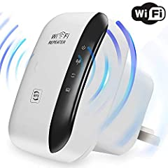 Mini WiFi Repeater Features: Made For Home & Office WiFi Improvement. Our Wifi repeater boosts your existing Wi-Fi coverage, extend wireless network to hard-to-reach areas. Clear WiFi dead zones simply! Farewell signal weak or broken, imp...