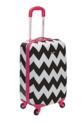 rockland-20-inch-carry-on-skin-pink-chevron-one-size