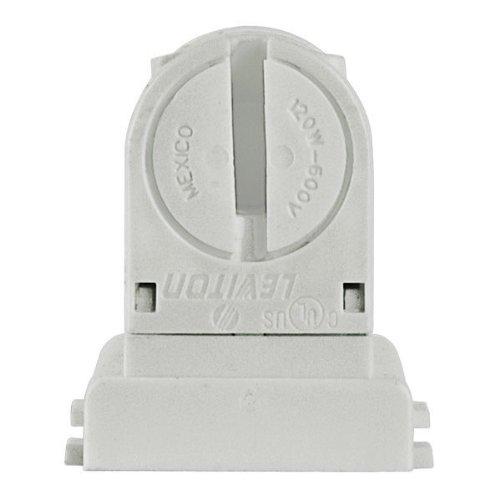 Leviton 13654-EXS - T8 to T5 - Lamp-Lock Lamp Adapter - Mini Bi-Pin Socket - Non-Shunted - for Programmed Start Ballasts