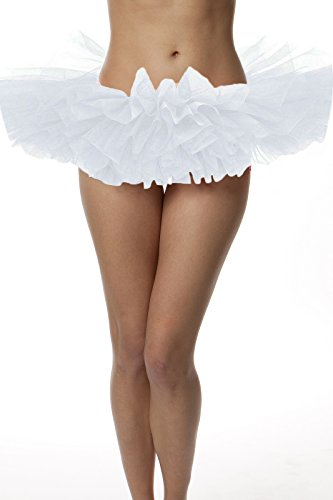 Skirt, ballet tutu style, by BellaSous. Perfect princess tutu, adult dance skirt, rehearsal tutu, or petticoat skirt. Plus size tutu available! Child Size - White tutu (Youth Girls Mode Pants)