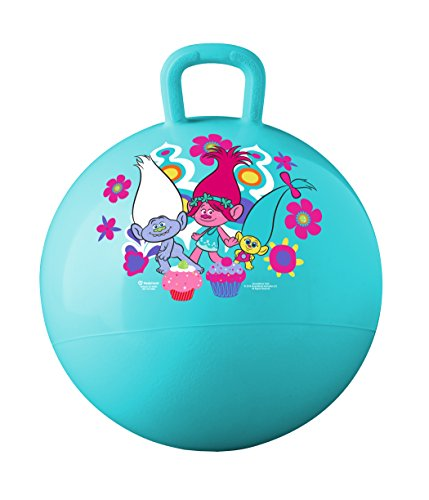 Hedstrom DreamWorks Trolls Hopper Ball, Hop Ball For Kids, 15 Inch