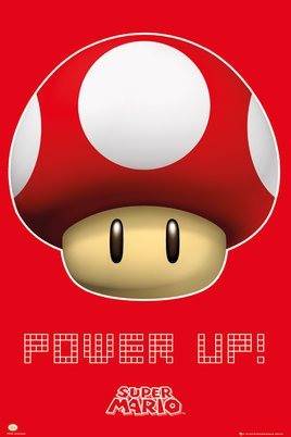 Nintendo Power Up Poster (24