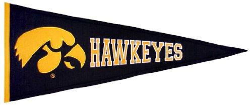 NCAA Iowa Hawkeyes Medium Pennant